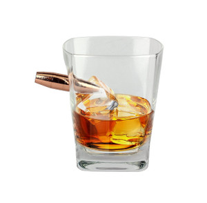 Last Man Standing Whiskey Glass