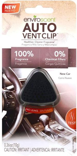 Enviroscent 01713 Auto Vent Clip, 100% Natural, Solvent-Free, New Car Scent