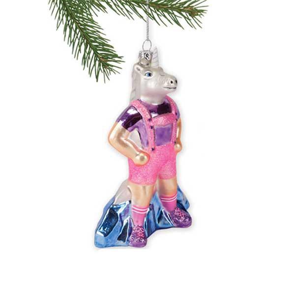 Lederhosen Unicorn Ornament
