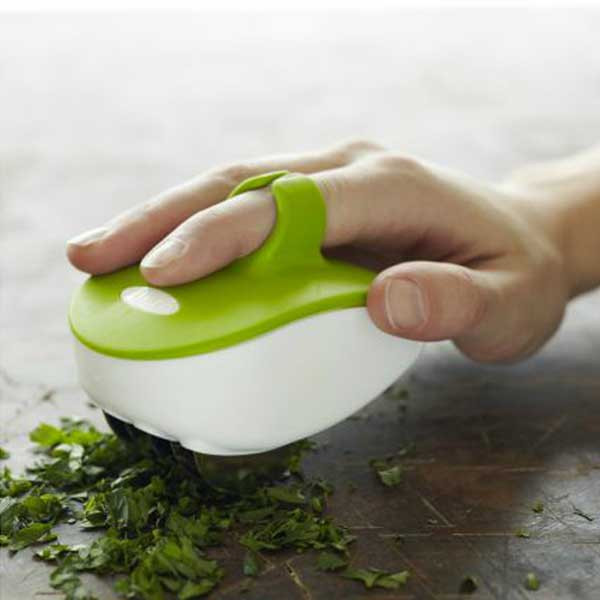 Rolling Palm Herb Mincer