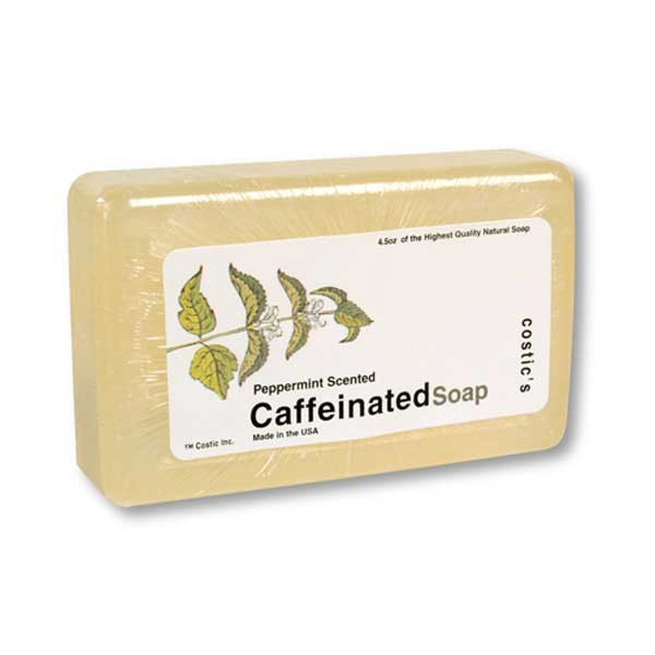 Caffeinated Soap With Peppermint Scent