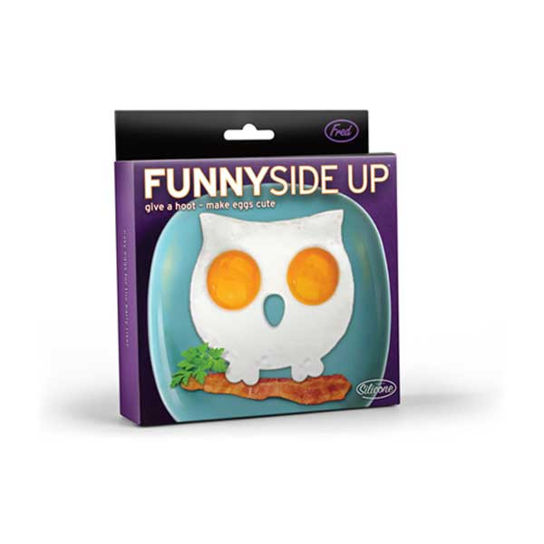 FUNNY SIDE UP Owl Egg Mold