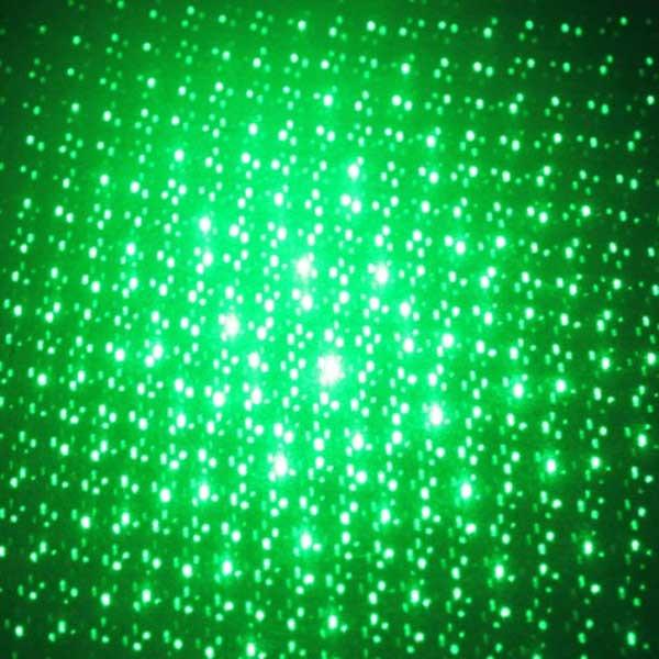 Kaleidoscopic Green Laser Pointer - 5mW