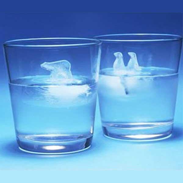 Polar Ice - Penguin & Polar Bear Ice Cube Molds