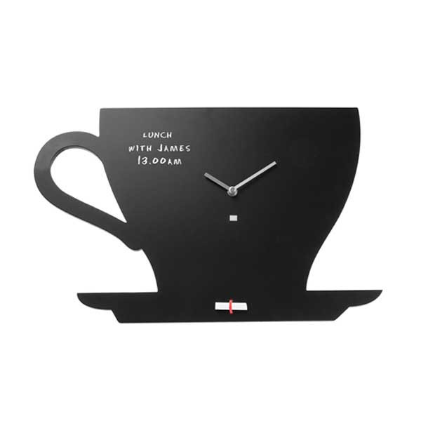 Chalkboard Wall Clock - Cup Of Tea