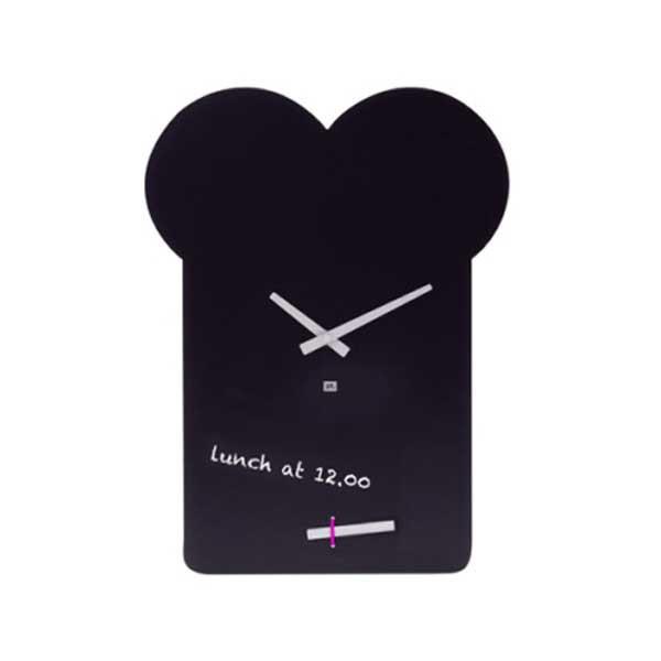 Black Board Sandwich Wall Clock