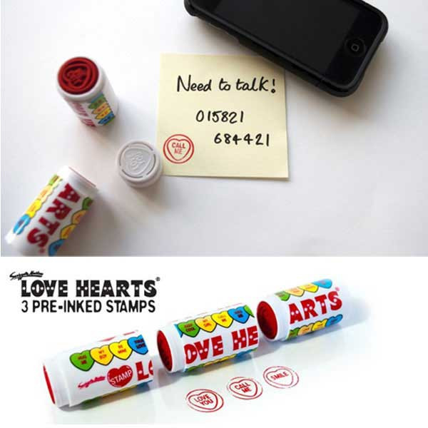 Love Heart Stamps