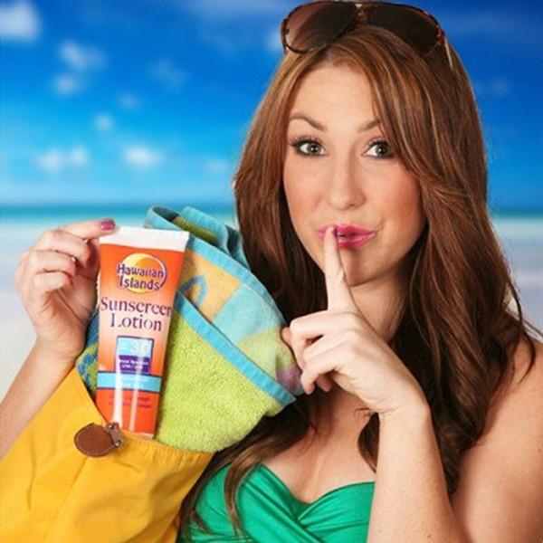 Fake Sunscreen Flask