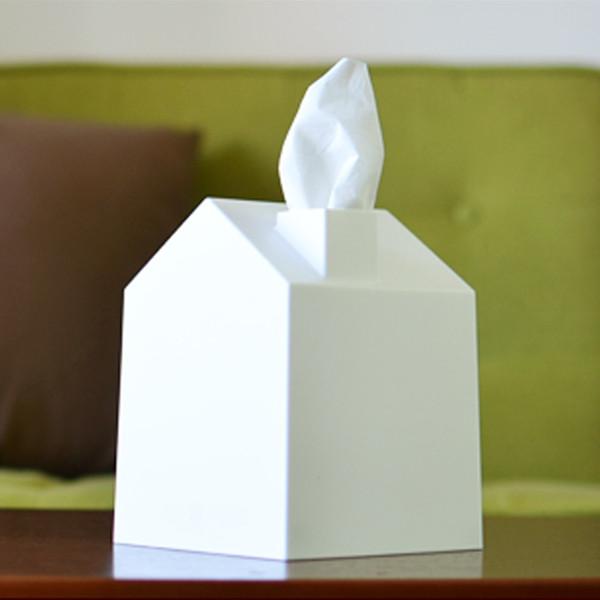 Casa Tissue Cover, White