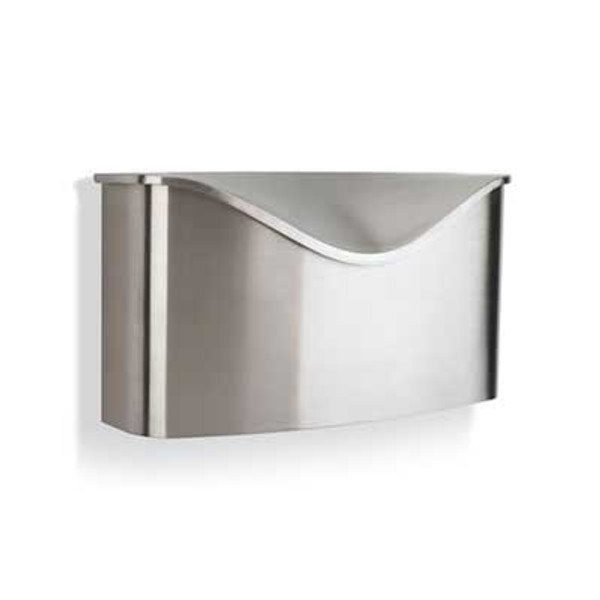 Postino Mailbox - Brushed Stainless Steel