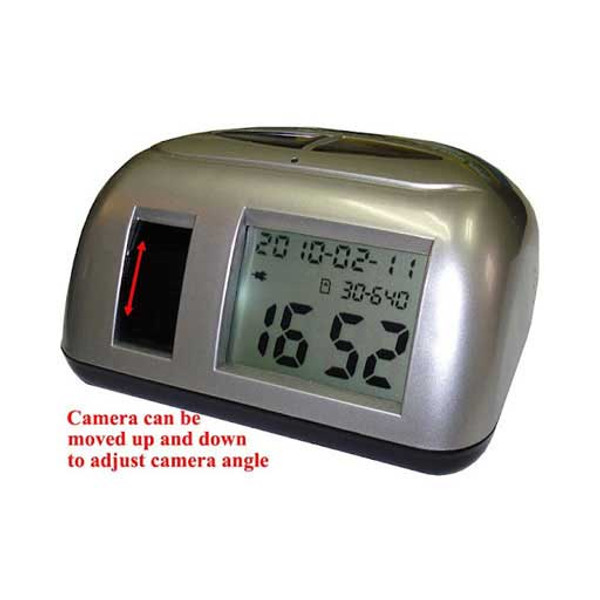 Motion Activated Hidden Camcorder Clock