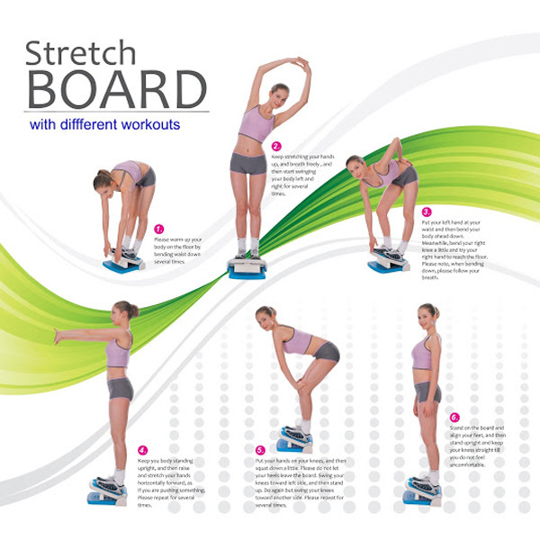 Carepeutic Acupuncture Points Stretch Board