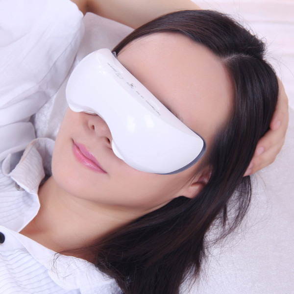 Carepeutic Rechargeable Warm Steam Eye Reflexology Massager