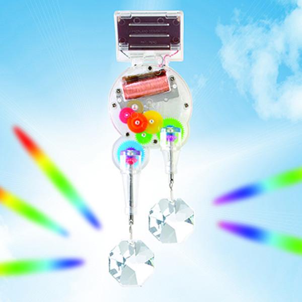 Solar Powered Double Rainbow Maker