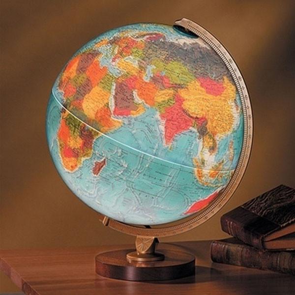 Illuminated Livingston Globe