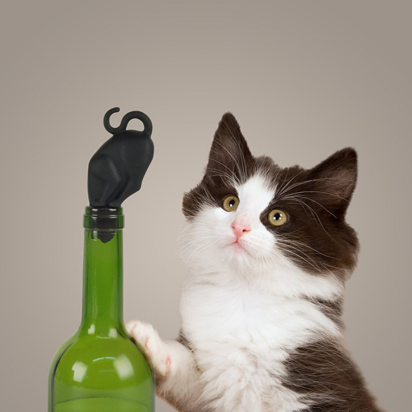 Stop Kitty Bottle Stopper