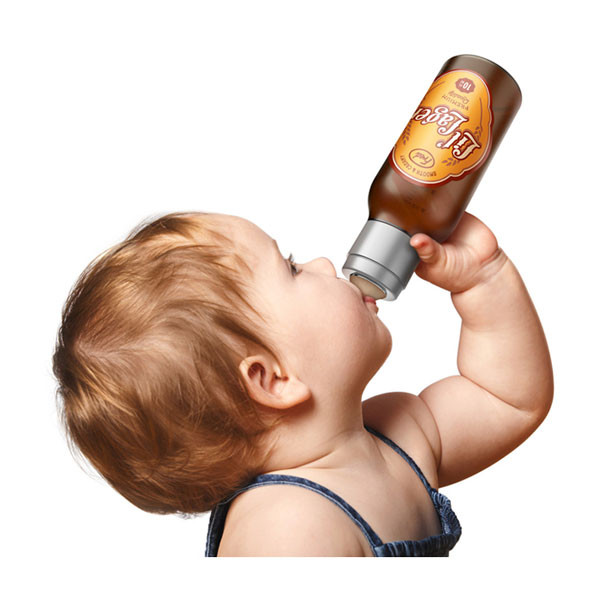 Chill Baby Lil' Lager Baby Bottle