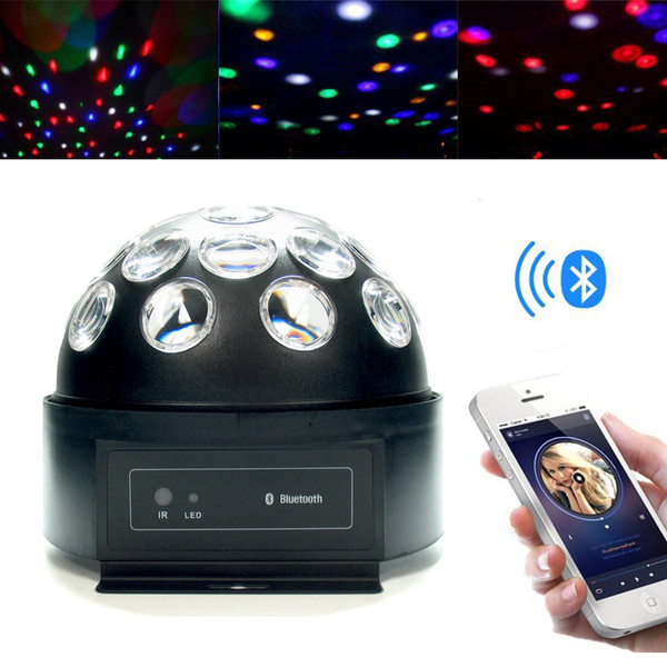 Dome LED Disco Ball and Bluetooth Speaker