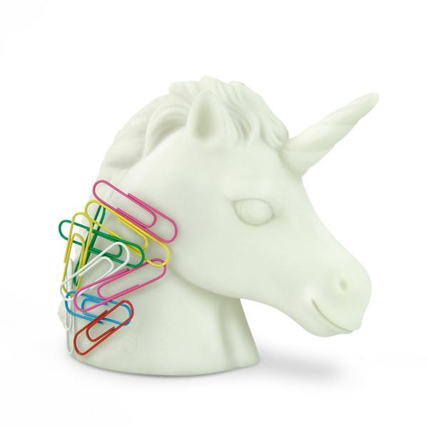 Unicorn Paperclip Holder | 2Shopper.com
