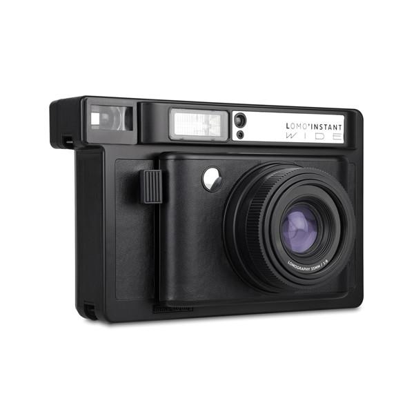 Lomo'Instant Wide Instant Film Camera Black