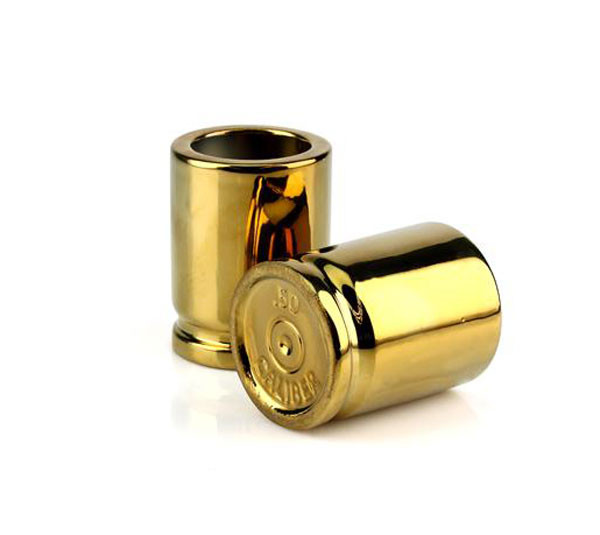50 Caliber Bullet Shot Glasses | 2Shopper