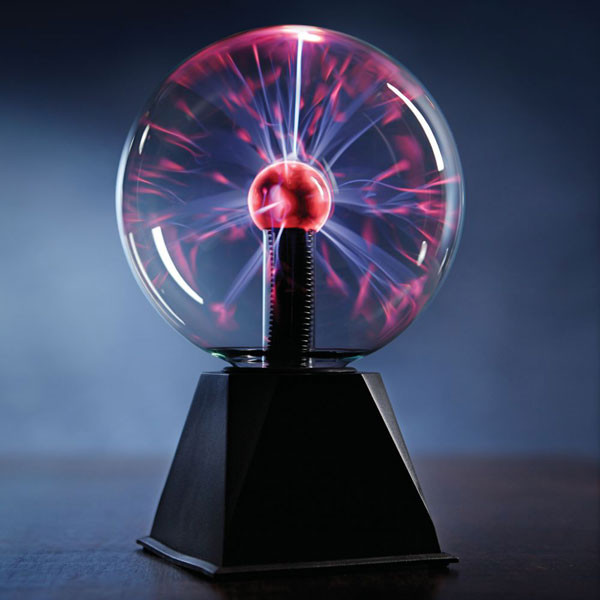 "Plasma Ball Orb Lamp 6"" inch"
