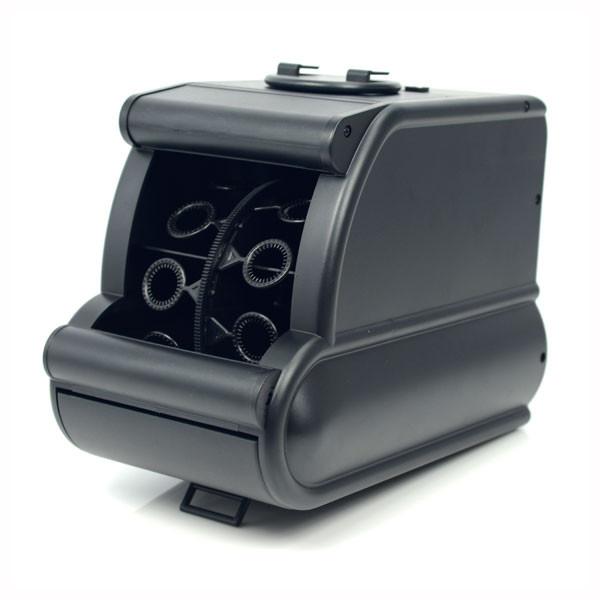 Mini Bubble Machine - Black | 2shopper