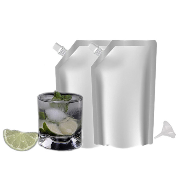 Sneak Your Alcohol Aluminum Drinking Flask Pouch