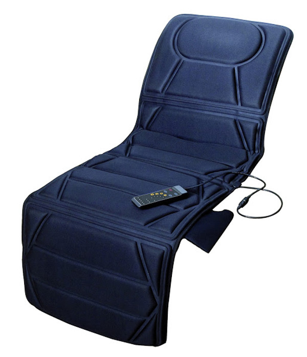 Carepeutic Targeted Zone Deluxe Vibration Massage Mat with Heat