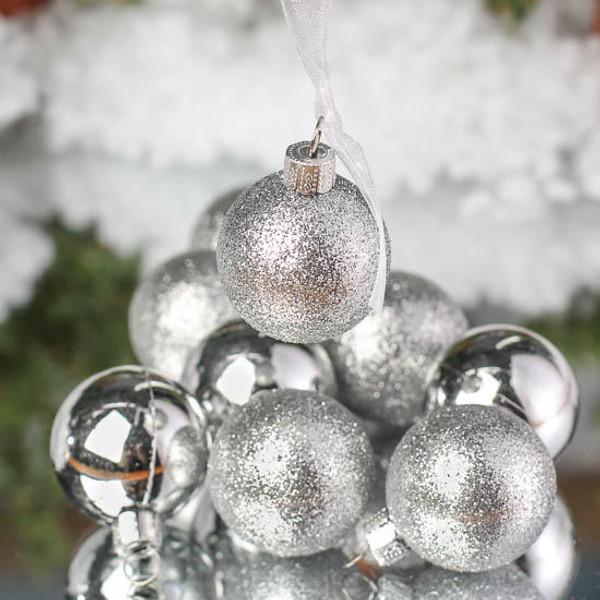 24 Pack Shatterproof Christmas Ball Ornament Set