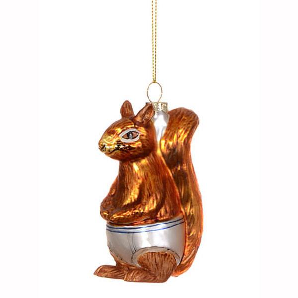 Squirrel In Underpants Ornament | 2Shopper