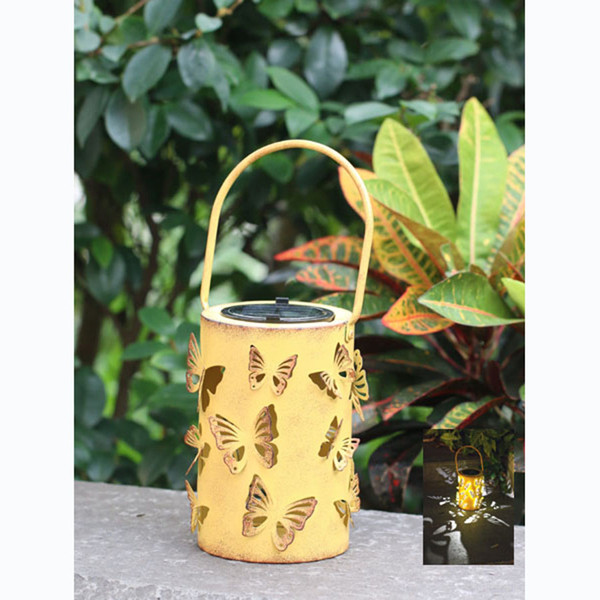 Solar Powered Butterfly Lantern LED Light