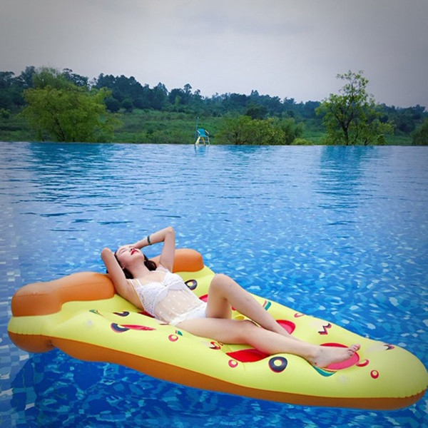 Inflatable Pizza Float