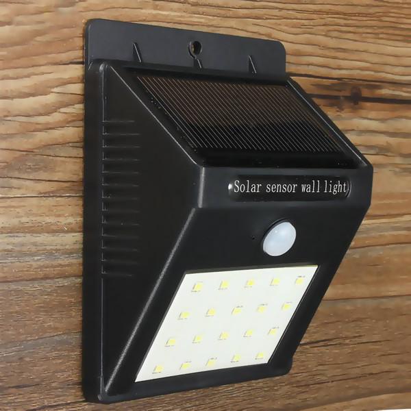 Solar Powered Motion Sensor Wall Light (20 SMD LED)
