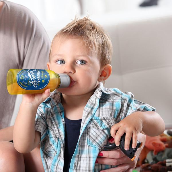 Chill Baby Pequena Cerveza Baby Bottle   2shopper.com