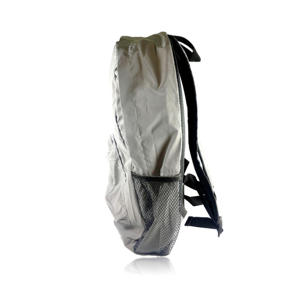 C-ME Reflective Silver Backpack