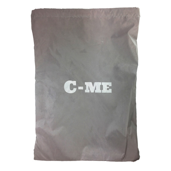 C-ME Reflective Silver Drawstring Bag