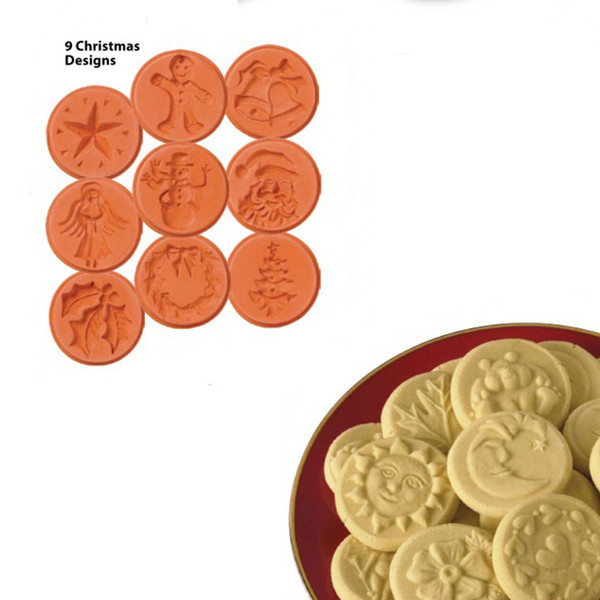 Christmas Cookie Stamps (Set of 9)