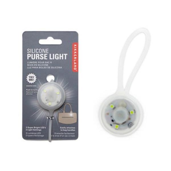 Kikkerland Silicone Purse Light