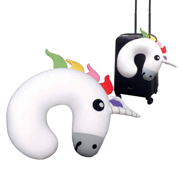 Gama-Go Unicorn Huggable Travel Pillow