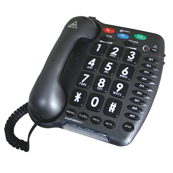 Geemarc Ultra Amplified Corded Telephone 60 DB