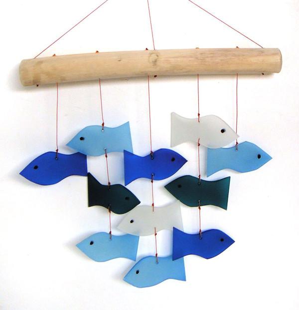 Fish & Driftwood Wind Chime