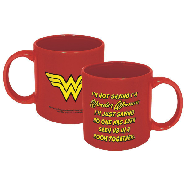DC Wonder Woman Not Saying 20 oz. Ceramic Mug