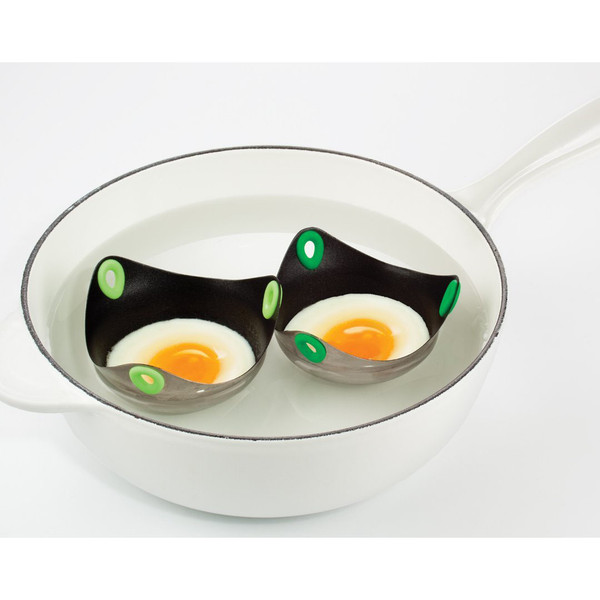 PoachPod Non-Stick Poaching Cups Stainless Steel