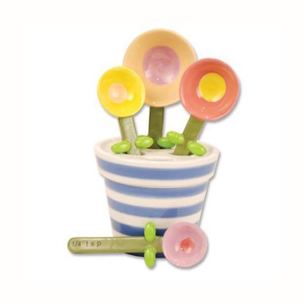 Flower Pot Measuring Spoon Baking Set