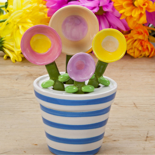Flower Pot Measuring Spoon Baking Set