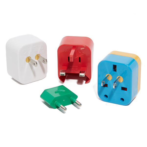 5-in-1 Universal Travel Adapter + USB Set