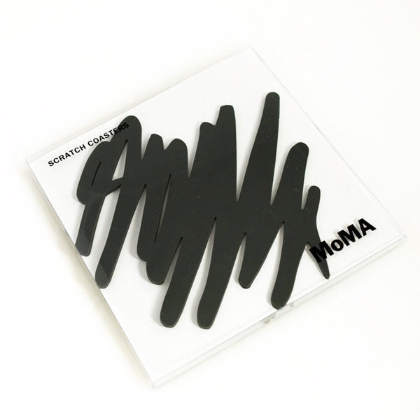 MoMA Scratch Coasters