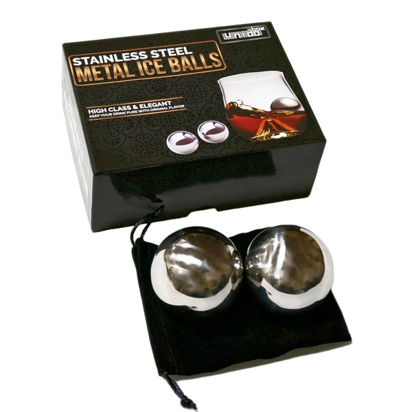 Unido Box Premium Stainless Steel Ice Ball Chillers