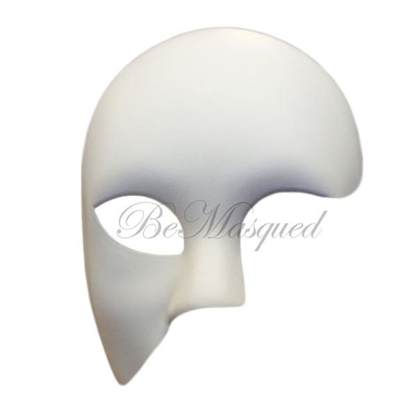 Phantom of the Opera Mask, White